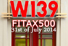 FITAX500 at W139, Amsterdam 2014